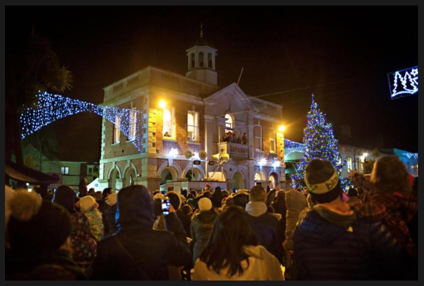 Christmas at Saxon Square Christchurch