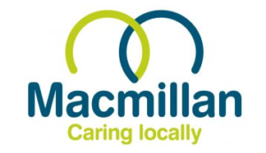 Macmillan Caring Locally logo