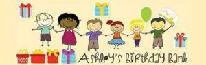 Ashleys Birthday Bank logo