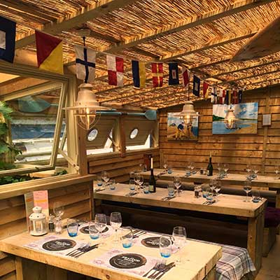 seafood shack at Thomas Tripp Christchurch