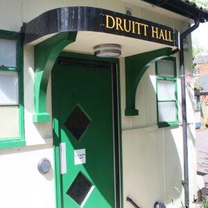Door of Druitt Hall
