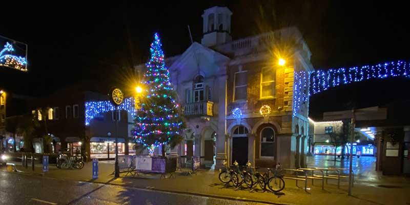 Town Hall in Saxon Square, Christchurch
