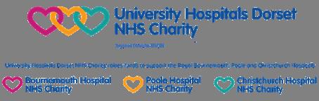 University Hospitals Dorset NHS Charity logo
